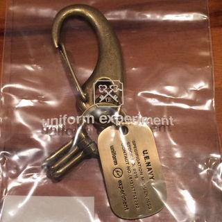 ユニフォームエクスペリメント(uniform experiment)の金 uniform  experiment dog tag key ring(その他)