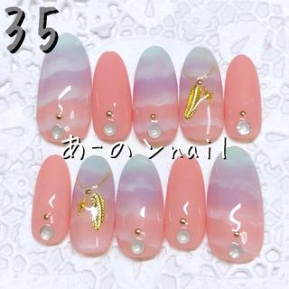送料&カラー変更1色無料«35»ジェルネイルチップ♡*.