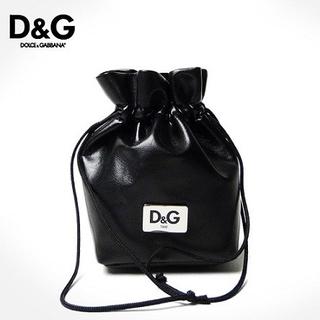 ドルチェアンドガッバーナ(DOLCE&GABBANA)の希少●D&Gドルガバ・巾着 ポーチ 正規品(ポーチ)