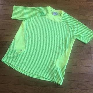アディダス(adidas)のアディダス ボーダー 星 tシャツ プラシャツ  美品(Tシャツ/カットソー(半袖/袖なし))