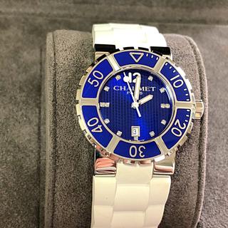 ショーメ(CHAUMET)の美品/ショーメ クラスワンP13ダイヤ 電池交換済(腕時計)