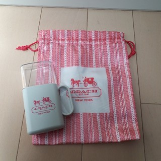 コーチ(COACH)のCOACH 巾着、携帯コップセット(日用品/生活雑貨)