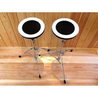 ドラム 練習 パッド pearl SD-20 2台 トレーニング(その他)