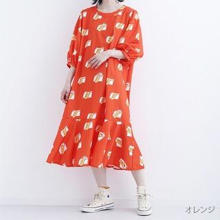 メルロー(merlot)のmerlot ニシワキタダシ ワンピース(ロングワンピース/マキシワンピース)