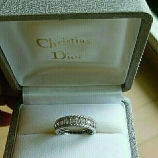 クリスチャンディオール(Christian Dior)のプラチナChristianDior ダイヤモンドリング(リング(指輪))