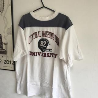 ダブルワークス(DUBBLE WORKS)のウエアハウス フットボールシャツ(Tシャツ/カットソー(半袖/袖なし))