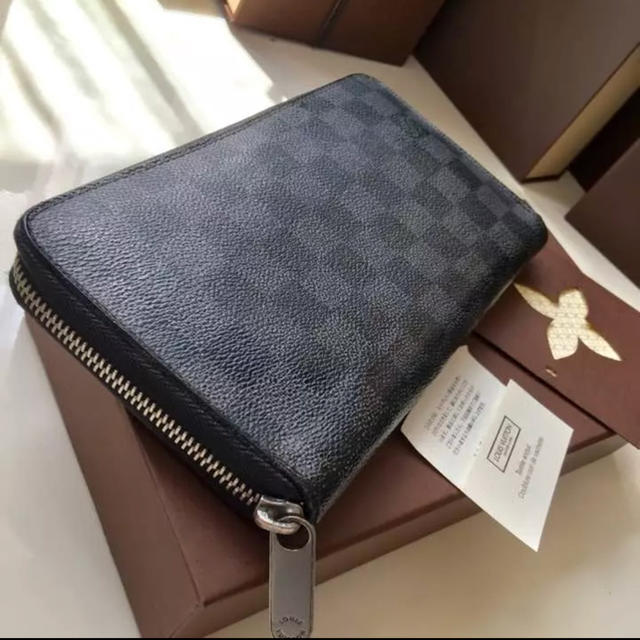 77158437d9ba LOUIS VUITTON - 【激安価格】ルイヴィトン 長財布 黒ダミエの通販 by ...