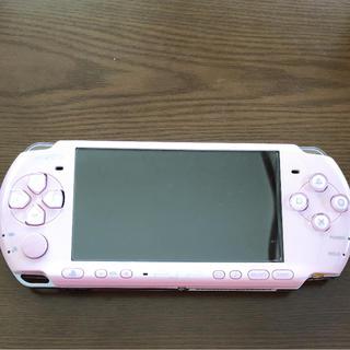 プレイステーションポータブル(PlayStation Portable)のPSP3000本体(携帯用ゲーム機本体)
