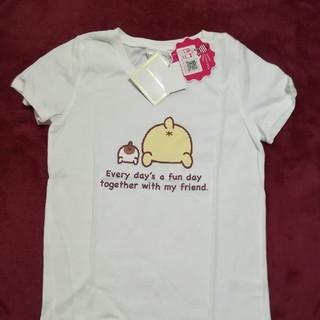 ポムポムプリン(ポムポムプリン)の綿100%Tシャツ(Tシャツ(半袖/袖なし))
