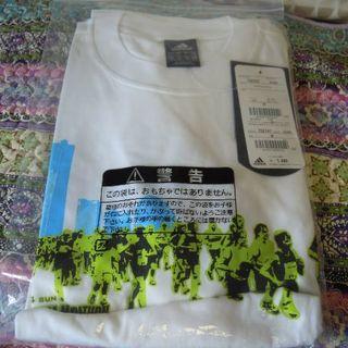 アディダス(adidas)の(未使用タグ付き)Tシャツ_横浜マラソン (Tシャツ/カットソー(半袖/袖なし))
