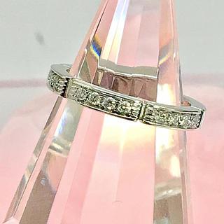 カルティエ(Cartier)のカルティエ 750 マイヨンパンテール リング アフター天然ダイヤモンド(リング(指輪))