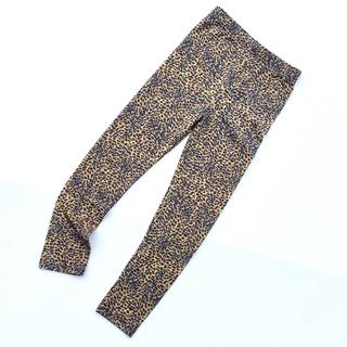 韓国子供服 ひょう柄レギンス A139(パンツ/スパッツ)