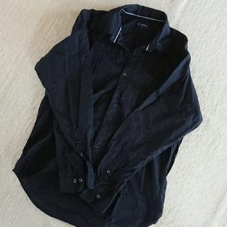 ネイビープロデュース(Navy produce)のメンズ  Yシャツブラック  サイズXL(シャツ)