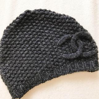 シャネル(CHANEL)の6/4まで CHANEL ニット帽 確実正規品(ニット帽/ビーニー)