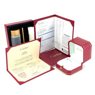 カルティエ(Cartier)の確実正規品Cartierソリテールリング(リング(指輪))