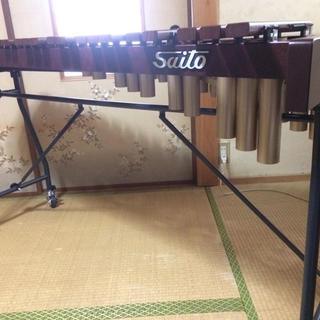 シロフォン 木琴 3.5オクターブ 斉藤楽器(28K) ほぼ新品(木琴)