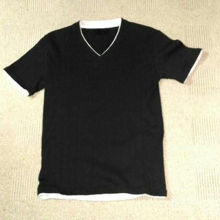 エイエスエム(A.S.M ATELIER SAB MEN)のVネックシャツ(Tシャツ/カットソー(半袖/袖なし))