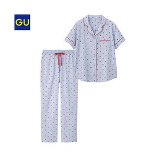 ジーユー(GU)のGUハートパジャマ半袖(パジャマ)