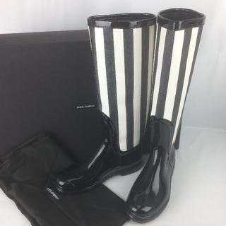 ドルチェアンドガッバーナ(DOLCE&GABBANA)のDOLCE&GABBANA◇新品◇レインブーツ(箱・保存袋付き)(レインブーツ/長靴)