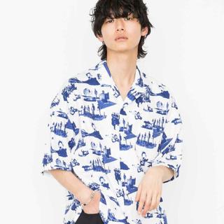 ハレ(HARE)のName. カラーオープンカラーシャツ(シャツ)