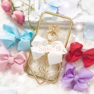 Saki.様✩6(M)※パープル GoldMetal(iPhoneケース)