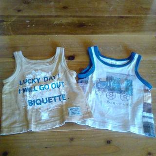 ビケット(Biquette)のタンクトップ Biquette 80(その他)