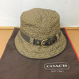 コーチ(COACH)の鑑定済み正規品 コーチ   帽子 ハット(ハット)