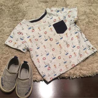 ザラ(ZARA)のZARA ヨット柄Tシャツ(Tシャツ)