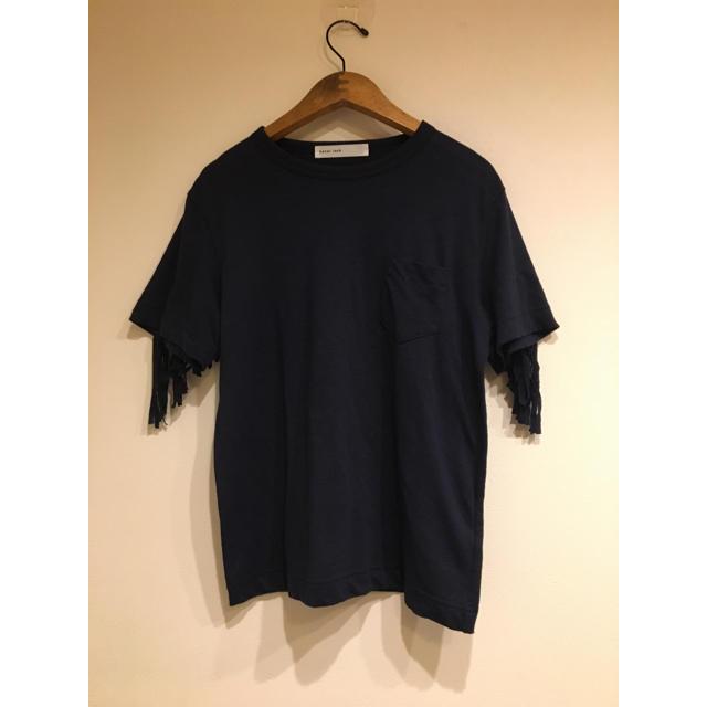 sacai luck(サカイラック)の15 AW sacai luck バックフリンジTシャツ 1 サカイラック レディースのトップス(Tシャツ(半袖/袖なし))の商品写真
