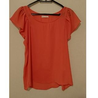 エージーバイアクアガール(AG by aquagirl)のAG オレンジ色カットソー /aquagirl アクアガール(カットソー(半袖/袖なし))