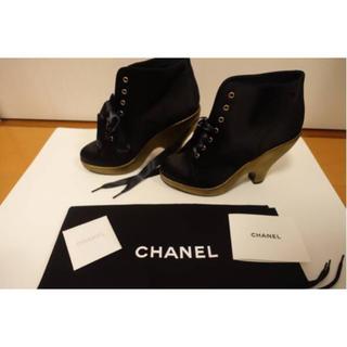 シャネル(CHANEL)のシャネル 激レア ショートブーツ ✨新品(ブーツ)
