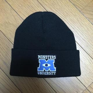 ウィゴー(WEGO)のモンスターズインクのロゴ ニット帽 (ニット帽/ビーニー)