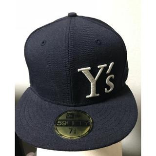 ワイズ(Y's)の☆ y's ワイズ ニューエラ 刺繍 ロゴ キャップ ☆(キャップ)