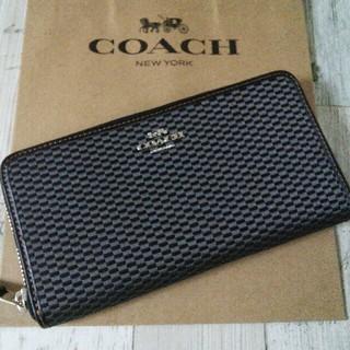 コーチ(COACH)のコーチ COACH ラウンドファスナー長財布 レディース(財布)