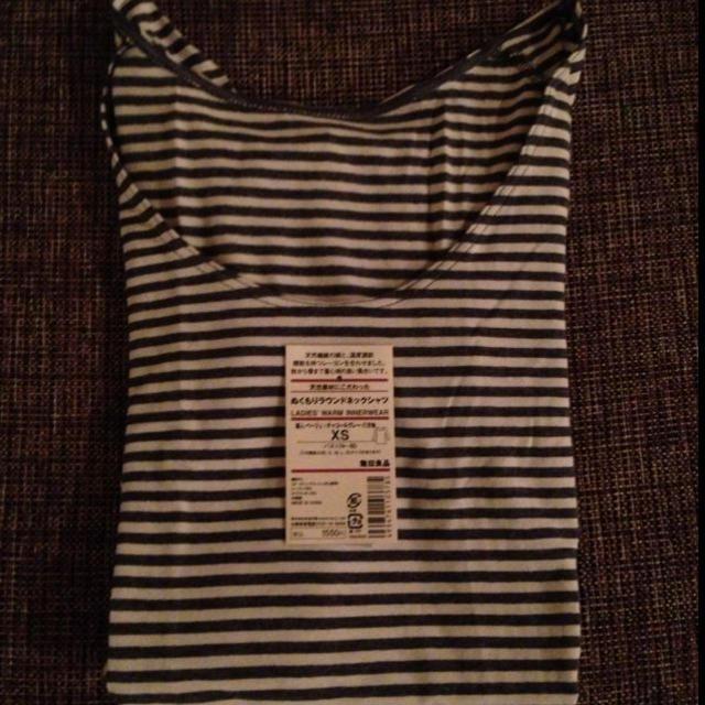 MUJI (無印良品)(ムジルシリョウヒン)の無印良品 新品!ぬくもりインナー レディースのトップス(Tシャツ(長袖/七分))の商品写真