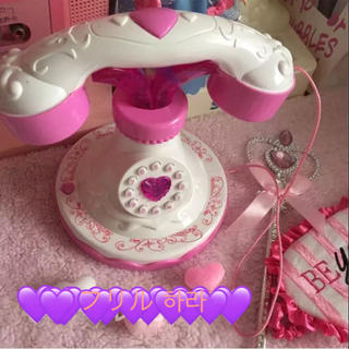 ペコクラブ(PECO CLUB)のファンシー テレフォン ピンク 電話(模型/プラモデル)