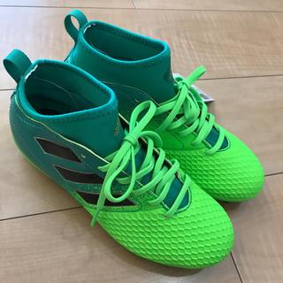 アディダス(adidas)のアディダス  22.5 サッカー スパイク 新品未使用(シューズ)