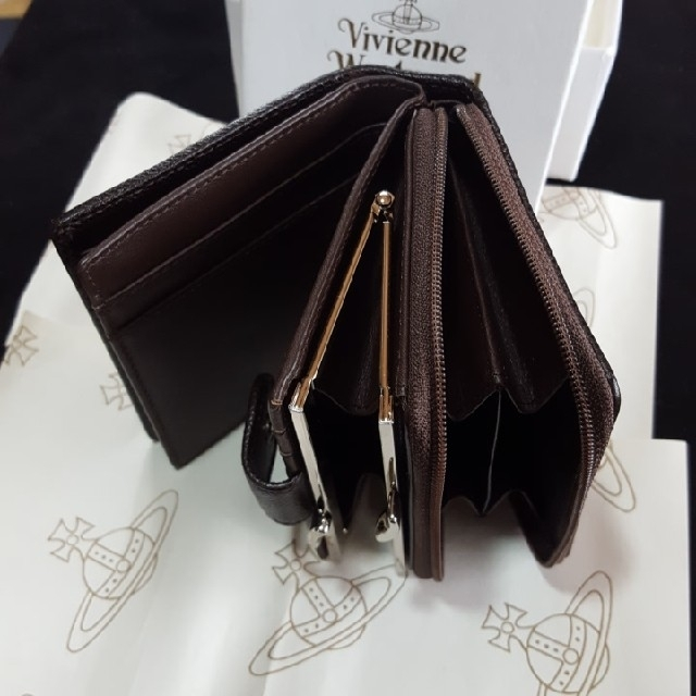 Vivienne Westwood(ヴィヴィアンウエストウッド)のVivienne Westwood二つ折り財布 レディースのファッション小物(財布)の商品写真
