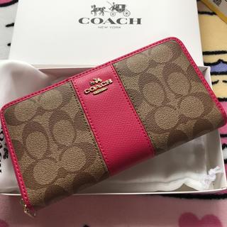 コーチ(COACH)の閉店セール コーチ 長財布 新品 未使用品(財布)