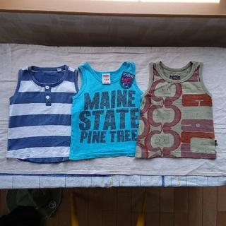 ポニーゴーラウンド(PONY GO ROUND)のタンクトップ  3枚セット(Tシャツ/カットソー)