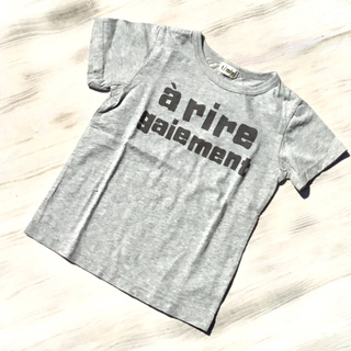ターカーミニ(t/mini)のT/mini/ターカーミニ プリントTシャツ K22803(Tシャツ/カットソー)