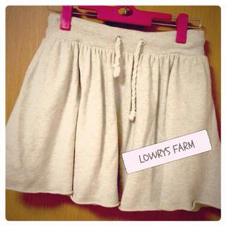 ローリーズファーム(LOWRYS FARM)のスウェットスカート(ミニスカート)
