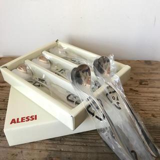 アレッシィ(ALESSI)の新品 ALESSI ハート型 スプーン 5本セット(カトラリー/箸)