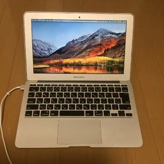 マック(Mac (Apple))のmac book air 2013 11インチ(ノートPC)