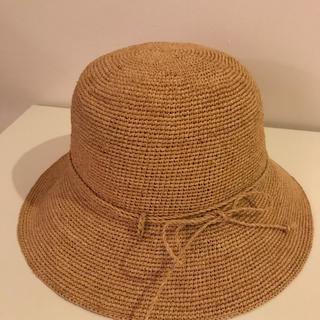 ムジルシリョウヒン(MUJI (無印良品))の無印良品 たためるキャペリンハット(麦わら帽子/ストローハット)