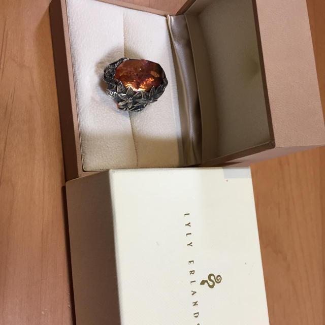 リリーエルランドソン winterリング LYLY ERLANDSSON メンズのアクセサリー(リング(指輪))の商品写真