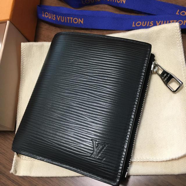 big sale 97271 50c1d ルイ ヴィトン コンパクト 二つ折り 財布 エピ 美品