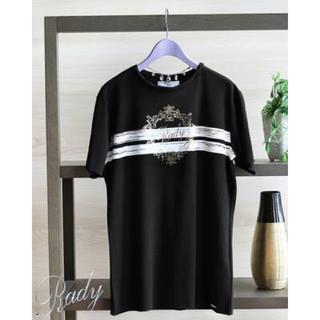 レディー(Rady)の新品♡Rady Tシャツ フレームロゴ メンズ (Tシャツ/カットソー(半袖/袖なし))