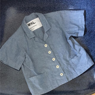 マーガレットハウエル(MARGARET HOWELL)のMHL 開襟シャツ(ブラウス)