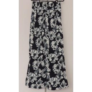 ショコラフィネローブ(chocol raffine robe)の花柄ワイドパンツ/ショコラフィネローブ ガウチョパンツ/LOWRYS(その他)
